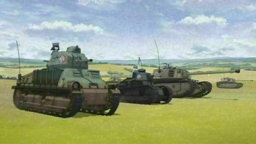 Девушки и танки (Оригинальная версия с субтитрами)